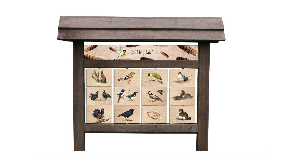 ZIDD-17 - Jaki to ptak (tablica interaktywna)