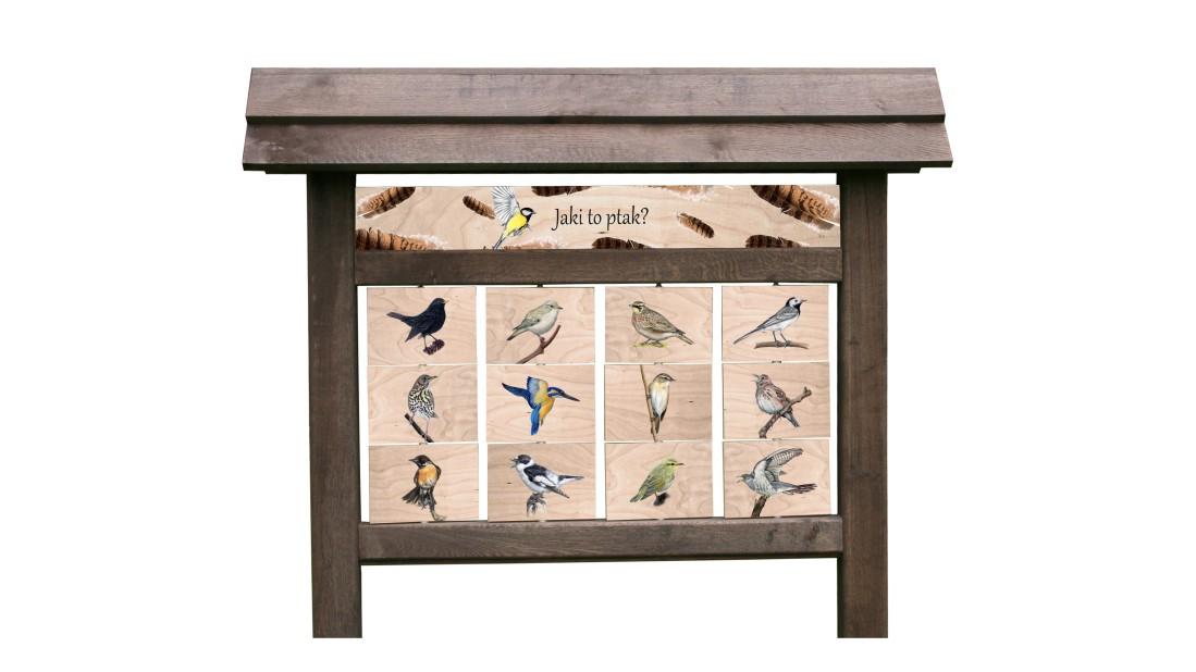 ZIDD-30 - Jaki to ptak (tablica interaktywna)