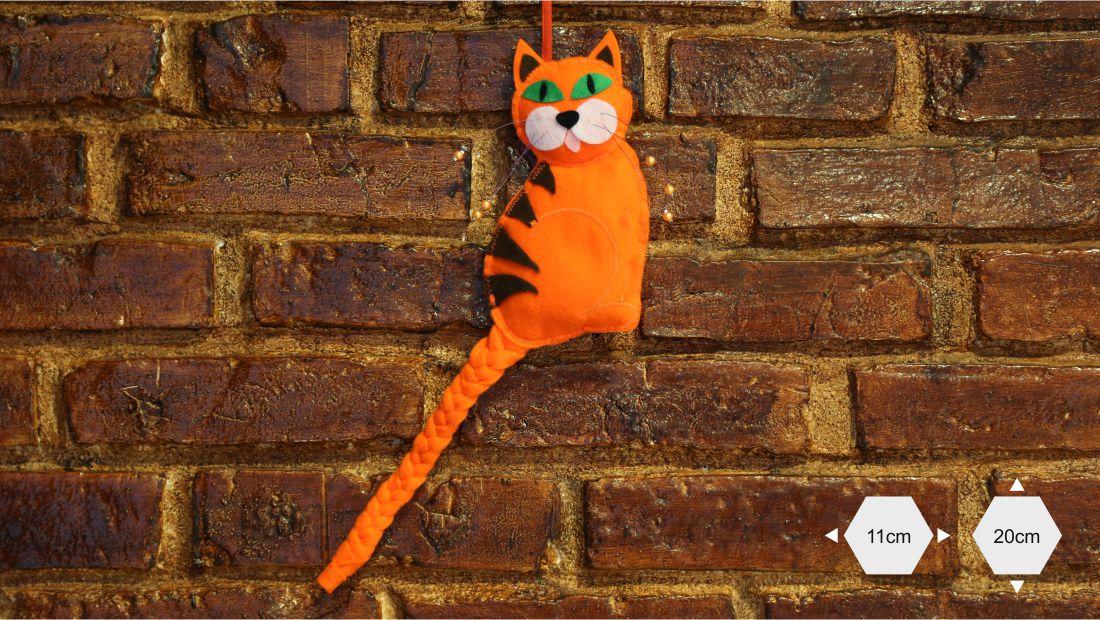 Maskotki z filcu - Kot