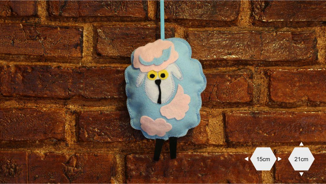 Maskotki z filcu - Owca