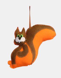 Maskotki z filcu - Wiewiórka