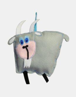 Maskotki z filcu - Koza