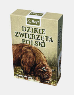 Karty TREFL - Dzikie zwierzęta polski - 2