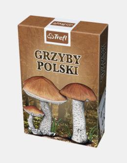 Karty TREFL - Grzyby polski - 1