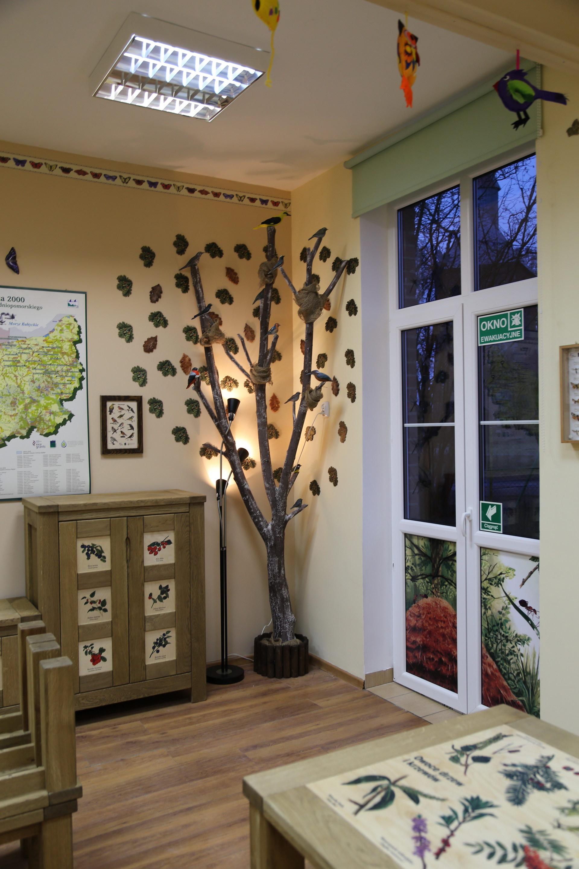 Izby edukacyjne lesne - sale przyrodnicze, wystroj wnetrz - SP w Biesiekierzu (2)