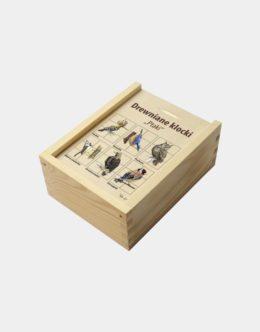 DKLs-2 (Drewniane klocki - ukladanka przyrodnicza)