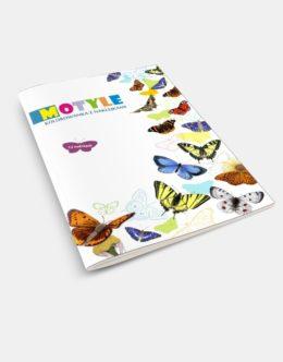 Kolorowanka Motyle