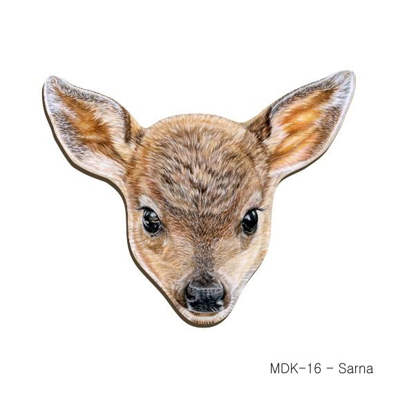 MDK-16 - Sarna (magnesy drewniane ksztalty)
