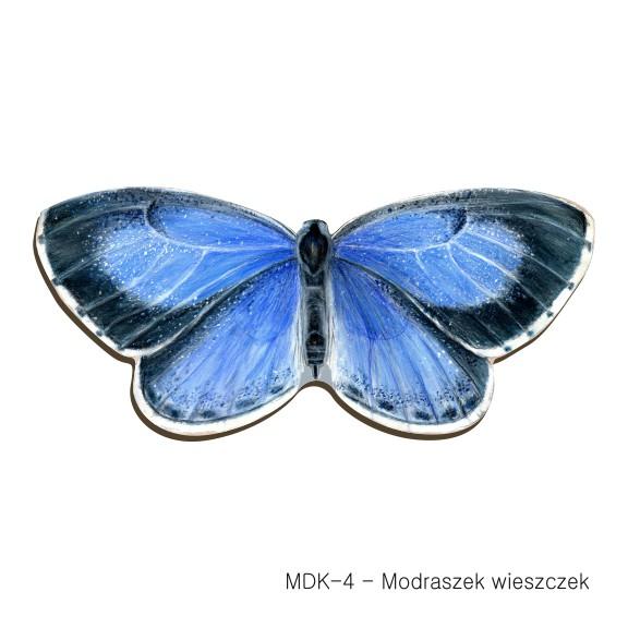 MDK-4 - Modraszek wieszczek (magnesy drewniane ksztalty)