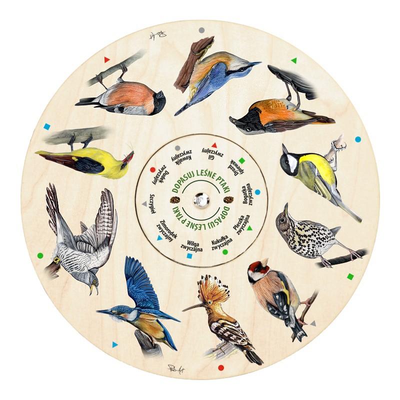 GEO-5 - Dopasuj leśne ptaki (gra edukacyjna)