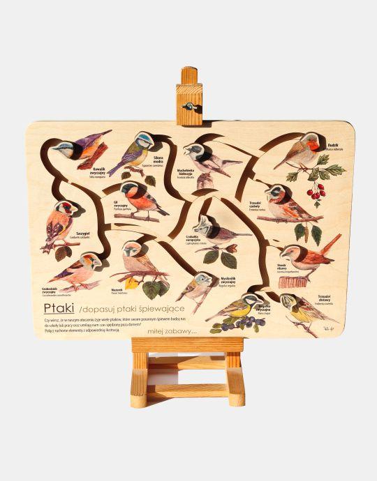 ŁPs-2 - ptaki śpiewajace (Łamiglowka przyrodnicza)