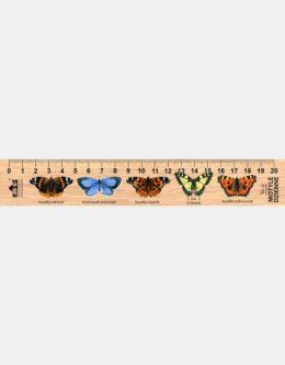 LESs-20 - motyle (linijka drewniana)