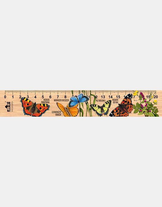 LESs-86 - Motyle (linijka drewniana)