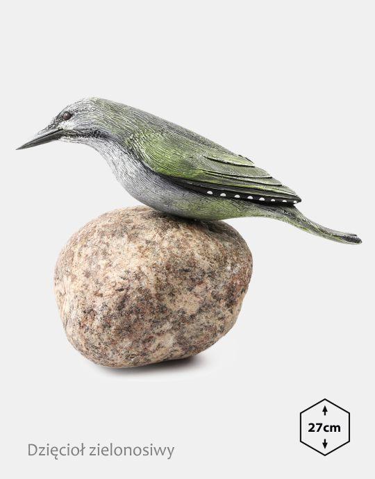 PTD-2 - Dzieciol zielonosiwy (figurki modele ptakow, ptaki dekoracyjne, ptaki ozdobne)